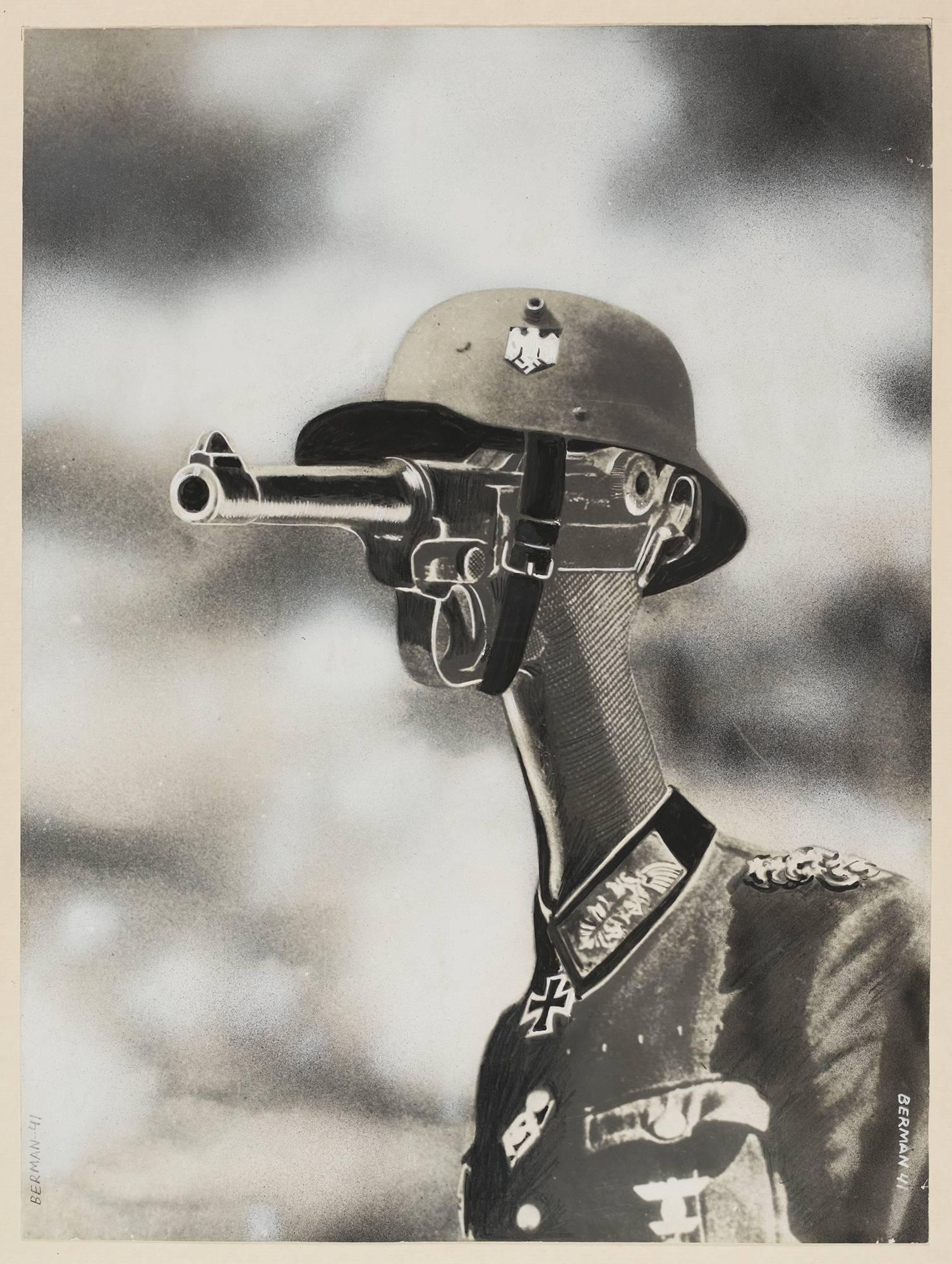 """4. REALIZM I AWANGARDA, portret z cyklu """"Krew i żelazo"""""""