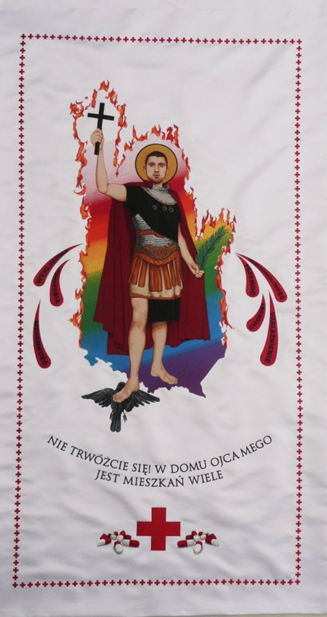 , Banner of Saint Expeditus